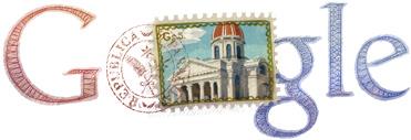 Google Logo: Paraguay Independance Day - 2012