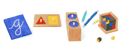 142º cumpleaños de Maria Montessori